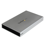 StarTech.com eSATAp / eSATA or USB 3.0 External 2.5in SATA III 6 Gbps Hard Drive Enclosure with UASP – Portable HDD / SDD S251SMU33EP
