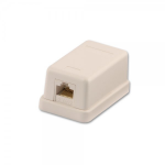 Lindy 60575 socket-outlet RJ-45 Grey
