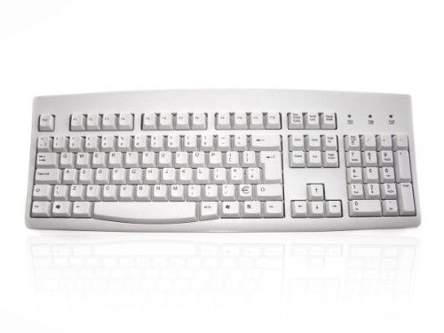 Accuratus 260 USB QWERTY English White