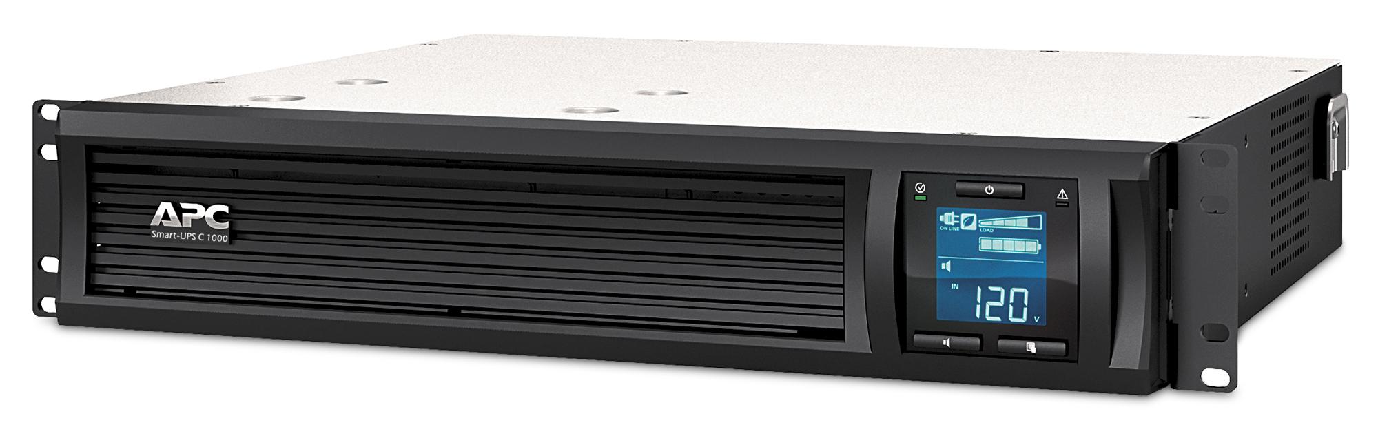 APC SMC1000I-2UC sistema de alimentación ininterrumpida (UPS) Línea interactiva 1000 VA 600 W 4 salidas AC