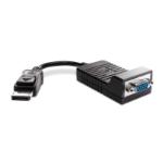 HP DisplayPort / VGA Black