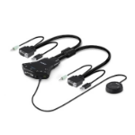 Belkin F1DN102V-3EA KVM switch Black