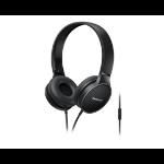 Panasonic RP-HF300ME Diadema Biauricular Alámbrico auricular para móvil