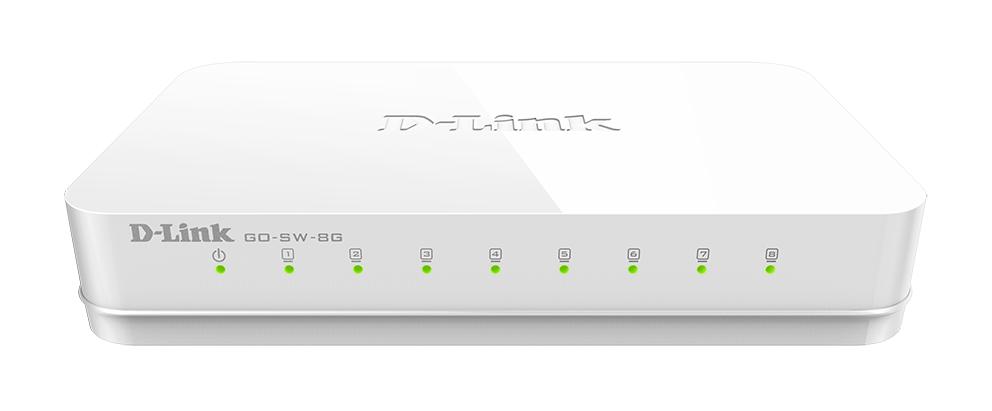 D-Link GO-SW-8G switch No administrado Blanco