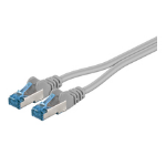 Microconnect SFTP6A05TWIN 5m Cat6a S/FTP (S-STP) Grey networking cable