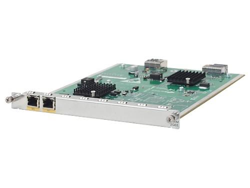 Hewlett Packard Enterprise MSR 2-port Gig-T HMIM Gigabit Ethernet network switch module