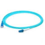 AddOn Networks ADD-LC-LC-0-5M5OM3LZ fibre optic cable 0.5 m LSZH OM3 Aqua