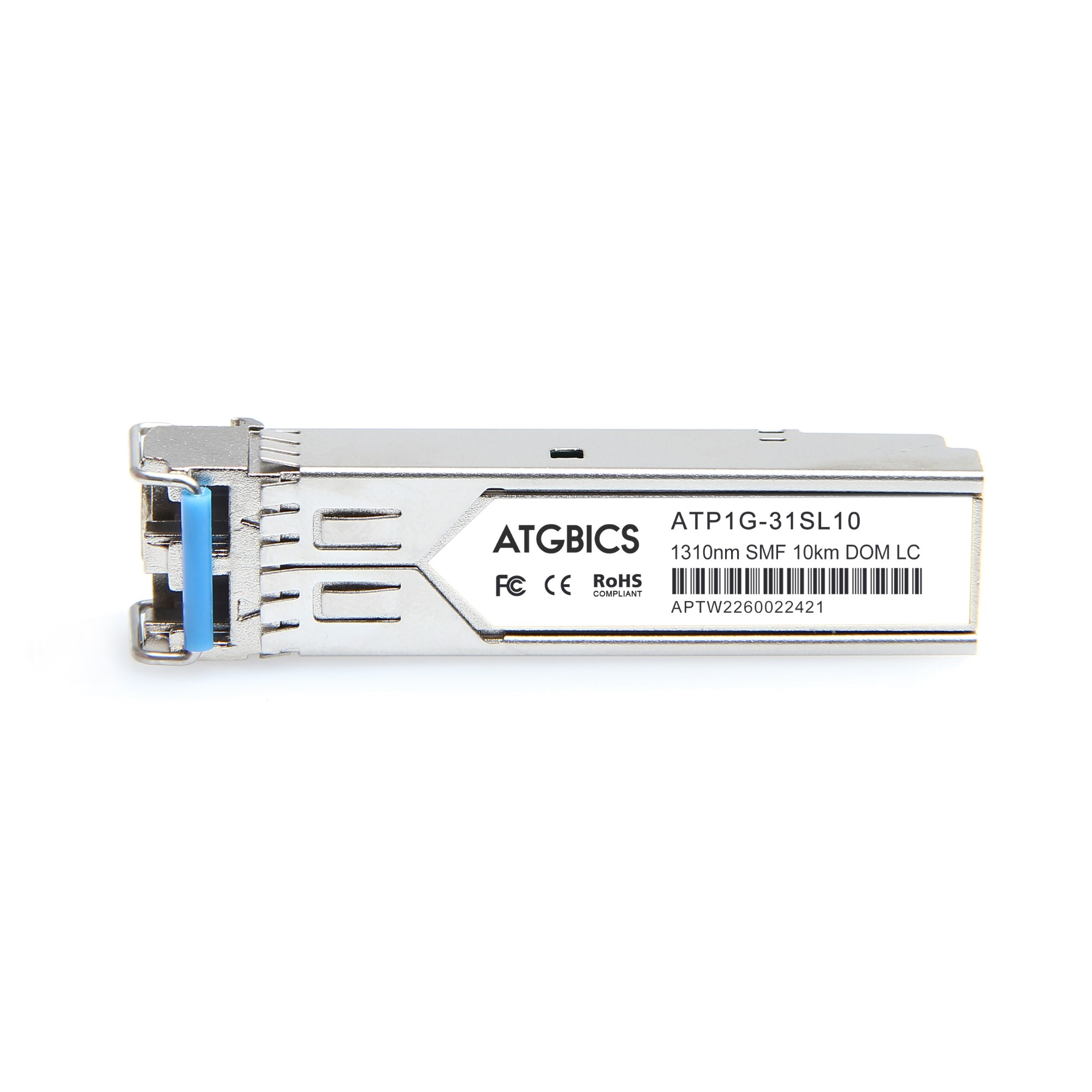 Image of ATGBICS CPAC-TR-1LX-SSM160-SFP-C network transceiver module Fiber optic 1000 Mbit/s 1310 nm
