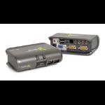 iogear MiniView Extreme Multimedia KVMP Switch KVM switch Grey
