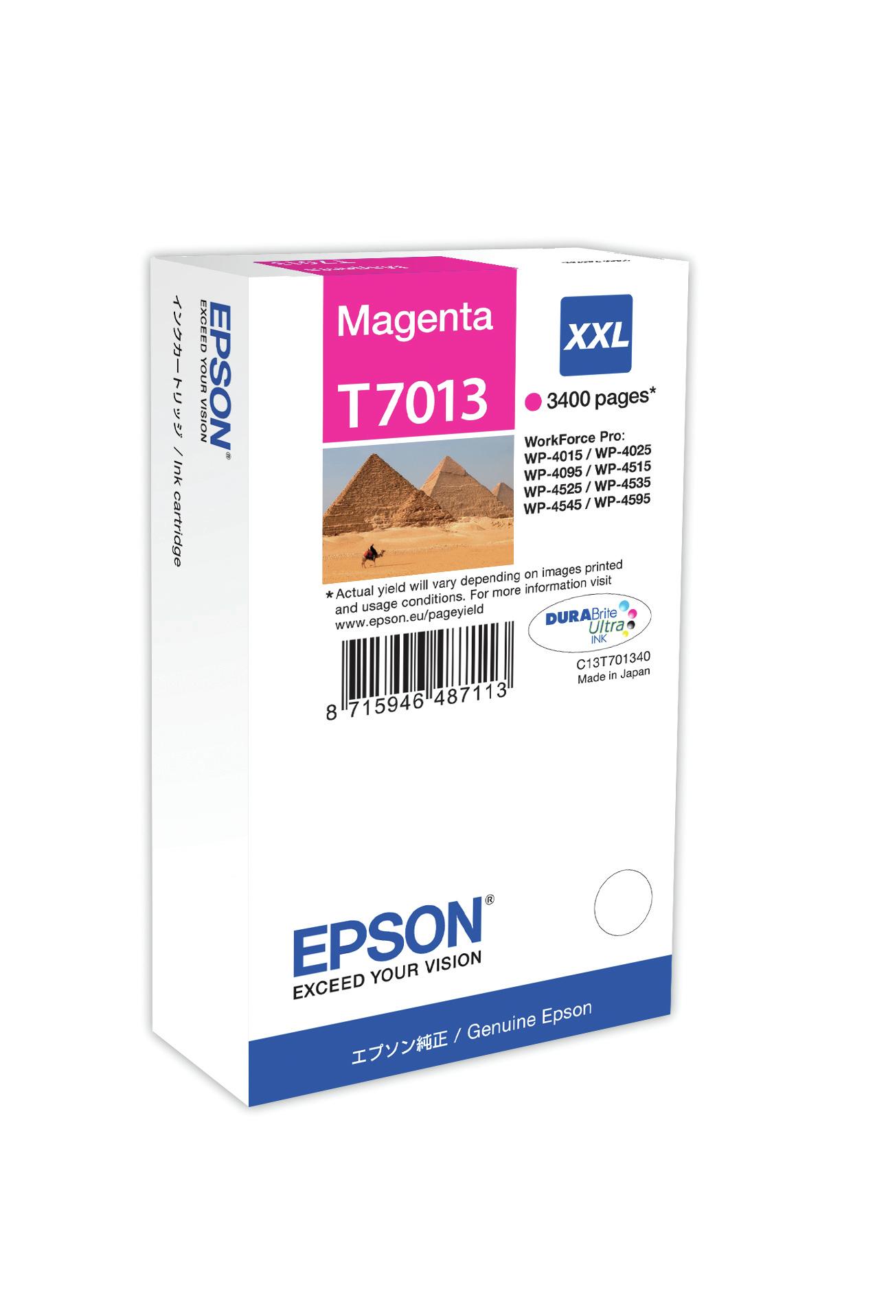 Epson Cartucho T70134010 magenta XXL