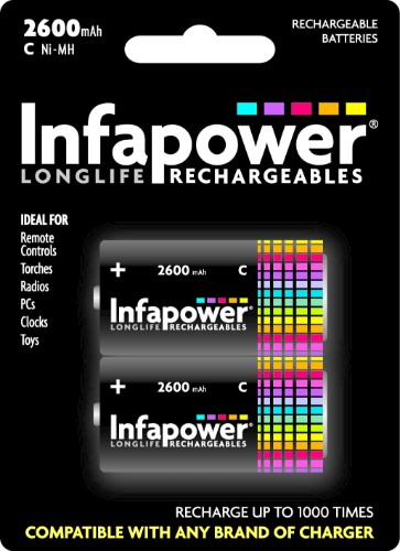 Infapower C 2600mAh Rechargeable battery Nickel-Metal Hydride (NiMH)