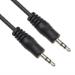 VCOM CV201 audio cable 1.8 m 3.5mm Black
