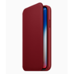 """Apple MRQD2ZM/A 5.8"""" Folio Red mobile phone case"""