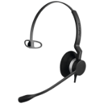 Jabra Biz 2300 USB Microsoft Lync Mono Headset Head-band USB Type-A Black