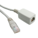 Videk RJ-45/RJ-45 2m Cat6 U/UTP (UTP) Beige networking cable