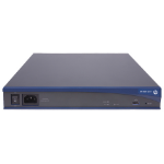 Hewlett Packard Enterprise A-MSR20-11 wireless router Fast Ethernet Blue