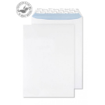 Blake Premium Office Pocket Peel and Seal Ultra White Wove C4 324x229mm 120gsm (Pack 250)