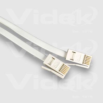 Videk UK Plug to Plug Straight 3m
