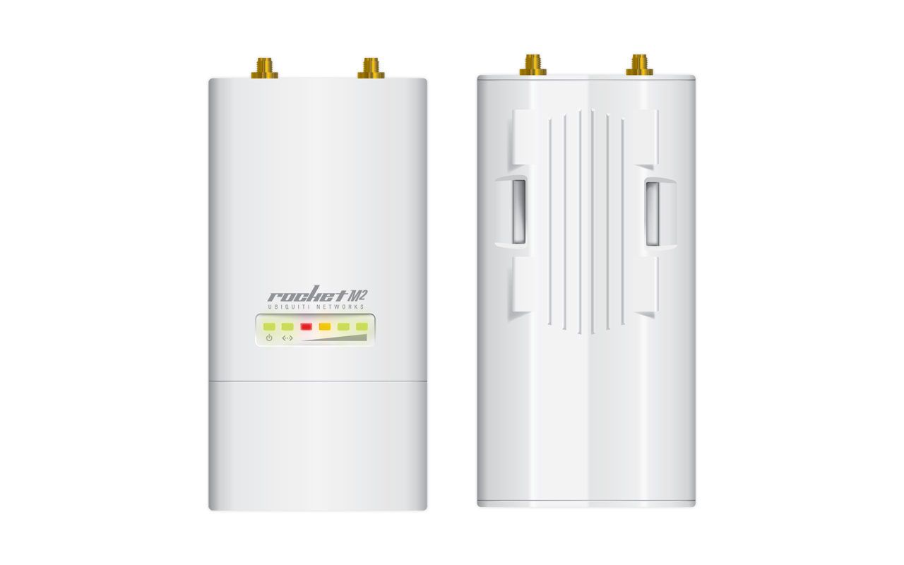 Ubiquiti Networks Rocket M2 150Mbit/s Power over Ethernet (PoE) White WLAN access point