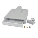 Ergotron 97-900 multimedia cart accessory Drawer Grey,White