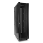 V7 RMEC42U-1E estante Rack o bastidor independiente 42U Negro