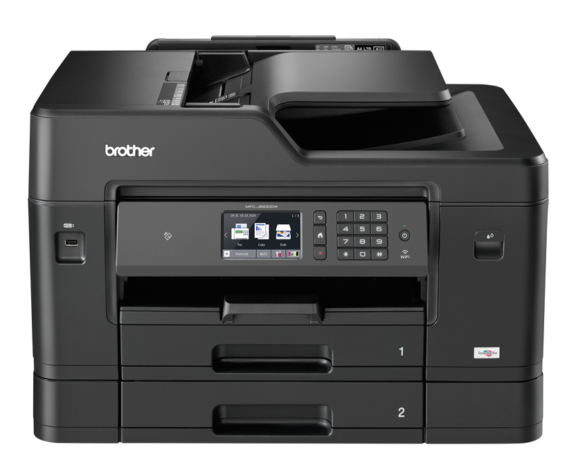 Mfc-j6930dw - Colour Multi Function Printer - Inject - A3 - USB / Ethernet / Wifi / Airprint / Iprint&scan