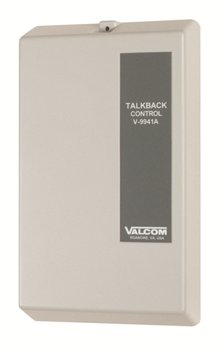 Valcom V-9941A White door intercom system