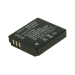 2-Power Digital Camera Battery 3.7v 1050mAh rechargeable battery