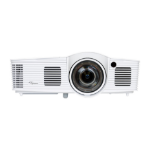 Optoma GT1080E data projector 3000 ANSI lumens DLP 1080p (1920x1080) 3D Desktop projector White