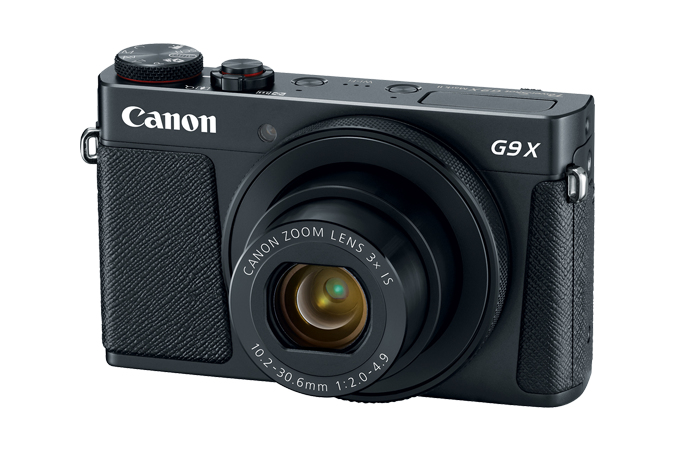 Powershot G9x Mark Ii Black 20mpix 3x Opt Zoom