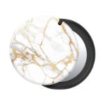 PopSockets 801908 holder Mobile phone/Smartphone Gold,White