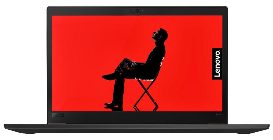 """Lenovo ThinkPad T480s Black Notebook 35.6 cm (14"""") 1920 x 1080 pixels 8th gen Intel® Core™ i5 i5-8250U 8 GB DDR4-SDRAM 256 GB SSD"""