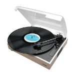 mBeat ® Wooden Style USB Turntable Recorder