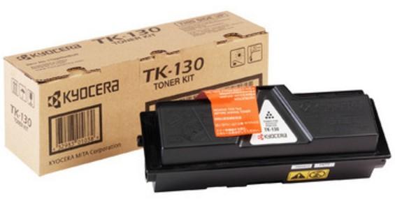 KYOCERA 1T02HS0EU0 (TK-130) Toner black, 7.2K pages @ 5% coverage