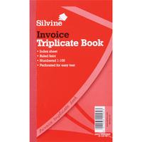 Silvine TRIPLICATE BOOK 8.25X5 INV619