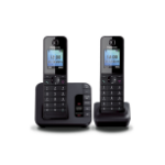 Panasonic KX-TGH222EB telephone DECT telephone Black Caller ID