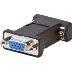 Lindy 71242 cable interface/gender adapter VGA Black