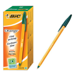 BIC Orange Fine Green Stick ballpoint pen 20 pc(s)