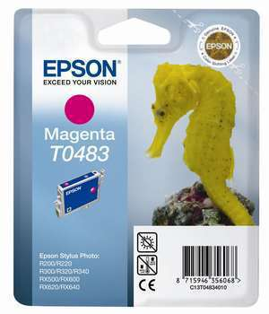 Epson Seahorse inktpatroon Magenta T0483