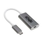 Tripp Lite U444-06N-MDP-AL cable interface/gender adapter USB Type-C Mini DisplayPort, USB Type-C Silver,White