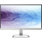 "HP 22es computer monitor 54.6 cm (21.5"") Full HD LED Flat Black,Silver"