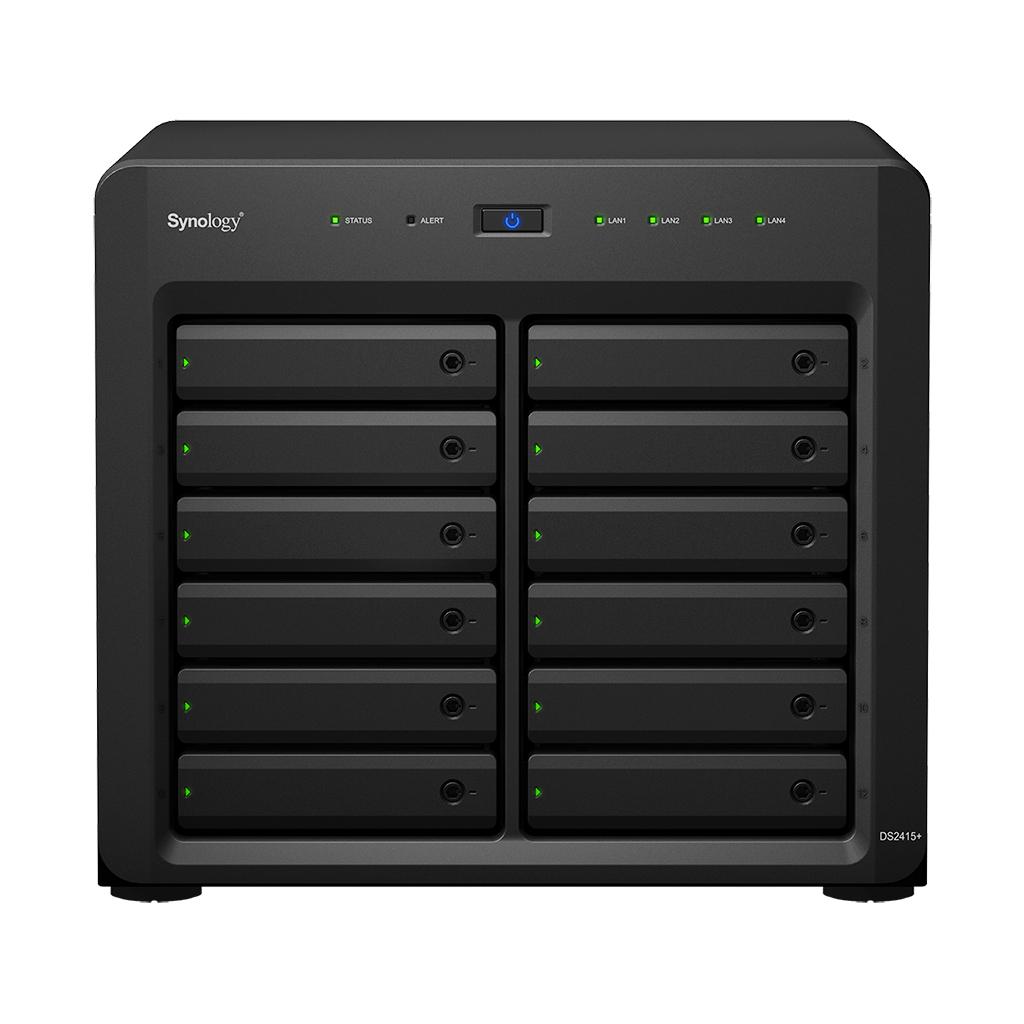 Synology DS2415+ NAS Desktop Ethernet LAN Black