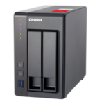 QNAP TS-251+ NAS Tower Ethernet LAN Grey J1900