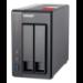 QNAP TS-251+ NAS Torre Ethernet Gris J1900
