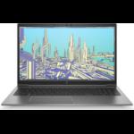 "HP ZBook Firefly 15 G8 DDR4-SDRAM Mobile workstation 39.6 cm (15.6"") 1920 x 1080 pixels 11th gen Intel® Core™ i7 16 GB 512 GB SSD NVIDIA Quadro T500 Wi-Fi 6 (802.11ax) Windows 10 Pro Silver"