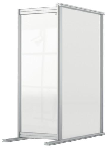 Nobo 1915499 magnetic board Grey, Transparent