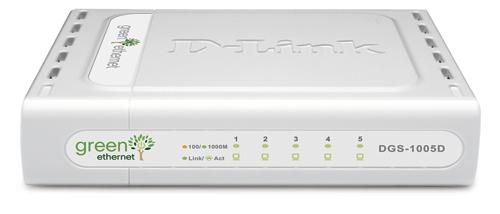 D-Link 5-Port 10/100/1000 Desktop Switch Unmanaged