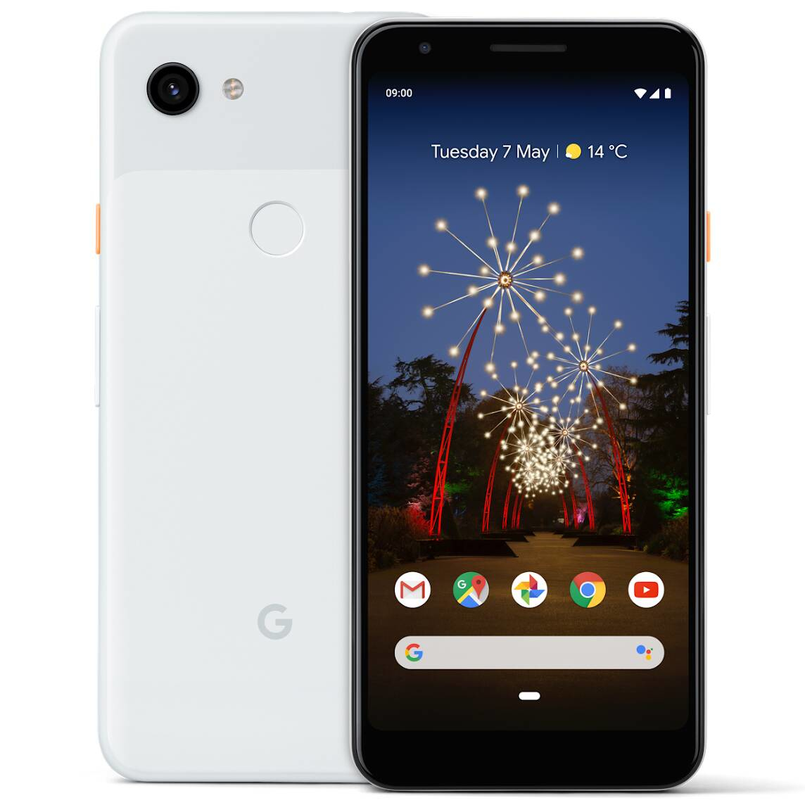 "Google Pixel 3a XL 15.2 cm (6"") 4 GB 64 GB Dual SIM Black,White 3700 mAh"