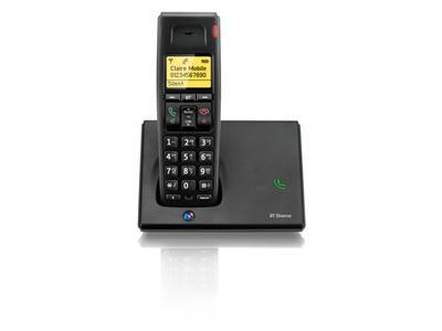 British Telecom Diverse 7110 R DECT telephone Black Caller ID