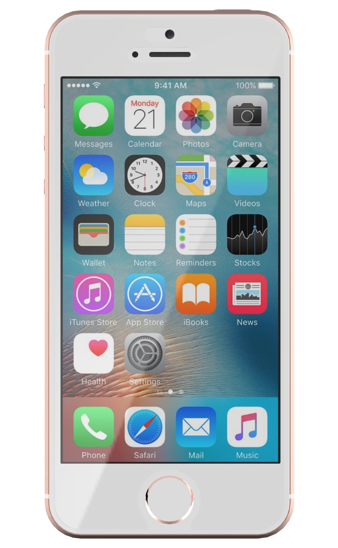 Tech21 T21-5281 Clear iPhone SE 1pc(s) screen protector
